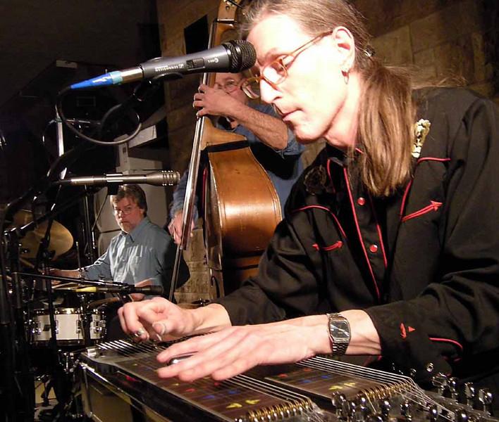 Roy King, Bill Watson, Al Moss at Mountain Rose in Kent, January 2008.