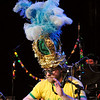 Jason with the Twistoffs.  Dig the Mardi Gras hat.