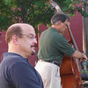 Dana Brown and Larry Hunsiger with Bob Hoefler's band, Kent, June 2007.