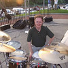 Rich Moore in Kent, June 2007, at a Home Savings concert.