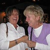 Helen Welch and her mom, visiting from England, at Candlelight Winery.  Do you think they get along?