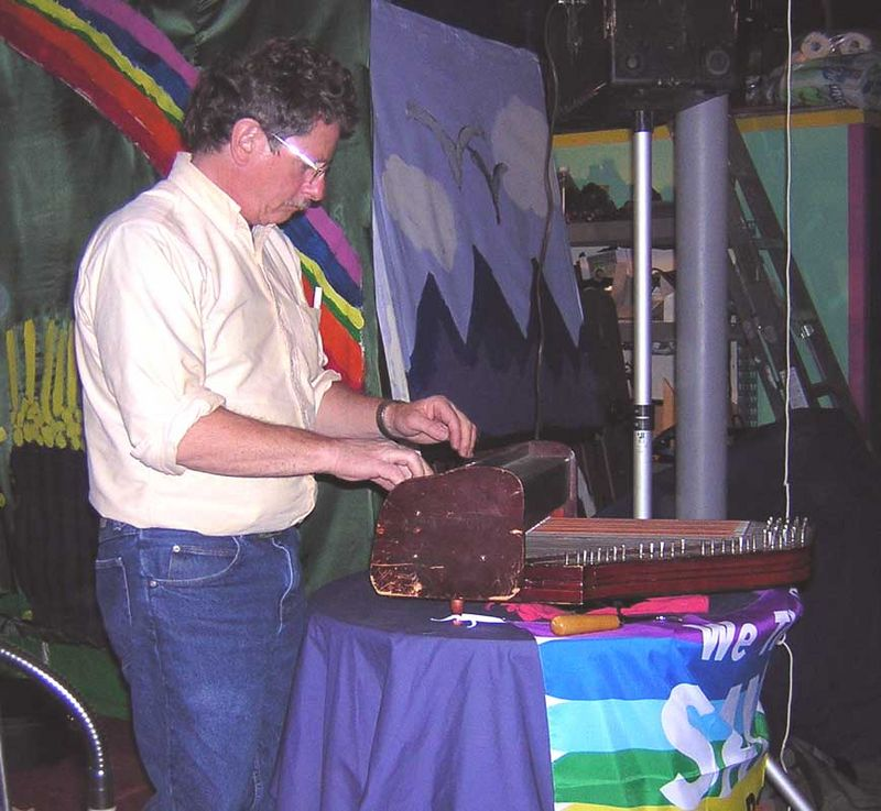 Andy playing the rare dulceola