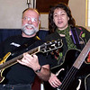 My sweetheart, Christie Anderson, and me - rocking out at the annual Kent UU Music Sunday, February 2008.
