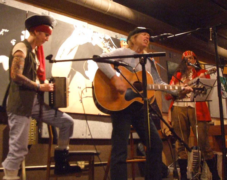 Pirate trio at the Northside
