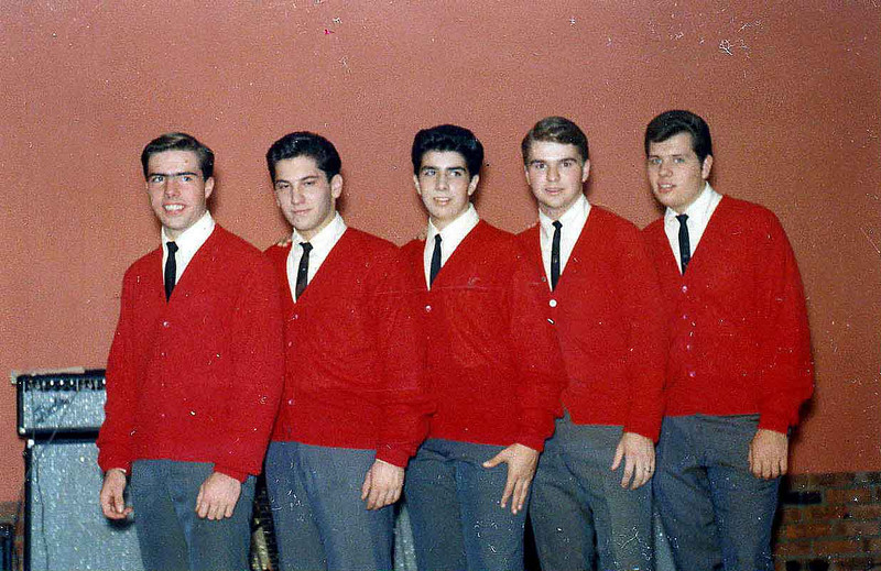 Statesmen group photo, 1965.  This is before we went Mod, in the next photo.
