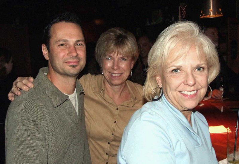 Dean, Marilyn, and June at the Benito's reunion.