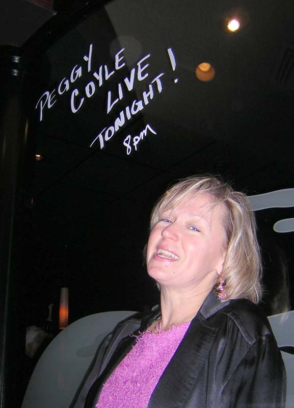 Peggy in the Cite Grille Limelight