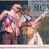 The dynamic duo at Kent's Art in the Park, September 2006.  Photo was in the Kent Record Courier.  Peggy Coil, indeed!  Coil and recoil !