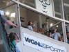 """Eddie Vedder sings """"Take me out to the ball game"""" at the Cubs/Mets game."""