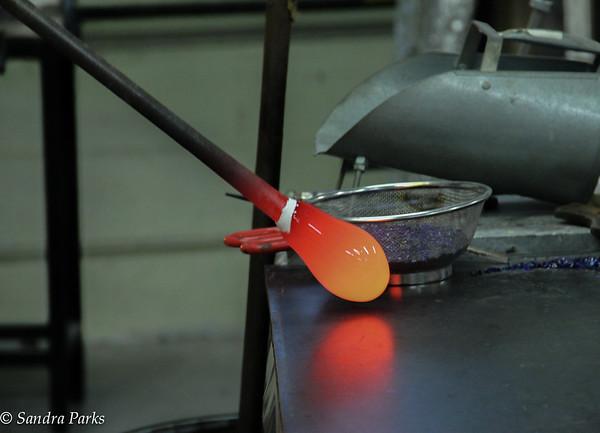 Hot glass, at SUnspots Studio