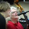 Lorie and Molly, at Sunspots Studio