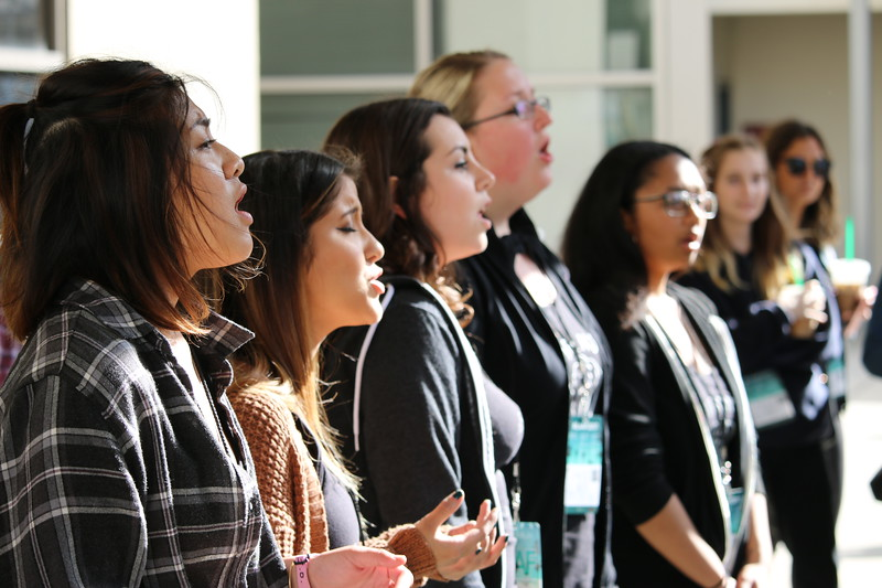 2017 Los Angeles A Cappella Festival (Saturday Workshops & Acabombs) 02/04/17