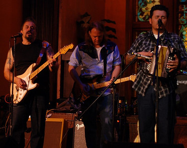 David Spencer of Sisters Morales sits in with the band