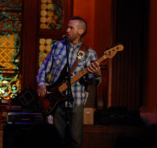 Guest bassist Ronnie James