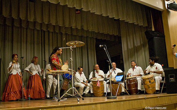 "From Puerto Rico, ""Los Hijos de Agueybana""  ( w/ audience participation )<br /> MLK Community Center<br /> Seattle, Wa. 3/13"