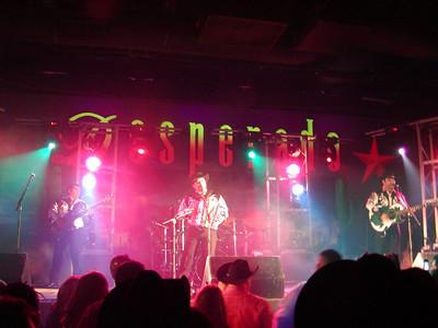 Los Palominos at Club Desperado, Arlington, TX 2-3-2007
