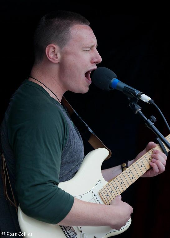 Louis Baker, Newtown Festival Street Fair, Wellington, 3 March 2013