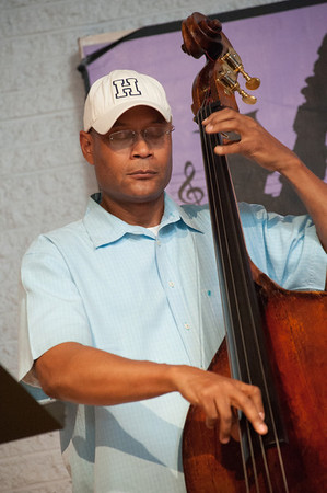 Herm Burney laying down a bass line.