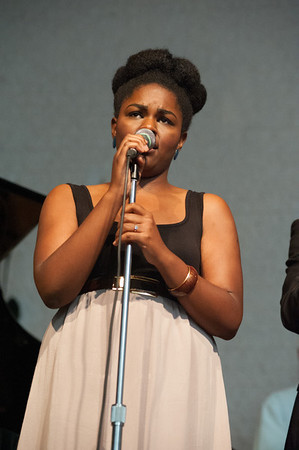 The band was joined by vocalist Christie Dashiell, who delighted the crowd with her renditions of many a jazz standard.