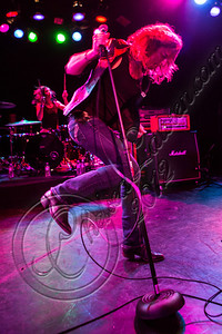 WEST HOLLYWOOD, CA - NOVEMBER 10:  Vocalist Ryan Hudson of Love and a .38 performs at The Roxy Theater on November 10, 2012 in West Hollywood, California.  (Photo by Chelsea Lauren/WireImage)