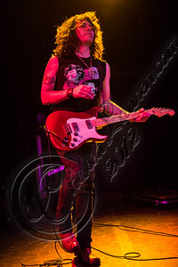 WEST HOLLYWOOD, CA - NOVEMBER 10:  Guitarist Domo Domaracki of Love and a .38 performs at The Roxy Theater on November 10, 2012 in West Hollywood, California.  (Photo by Chelsea Lauren/WireImage)