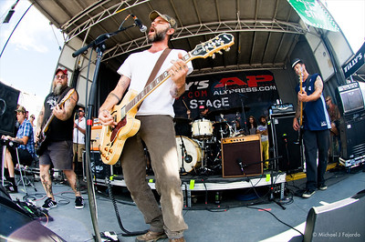 Lucero 2011 Warped Tour Invesco Field at Mile High Denver, CO  August 05, 2011