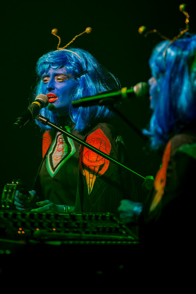 October 31, 2016 Lucius & Cactus Blossoms Halloween Party at Headliners Music Hall in Louisville, KY.