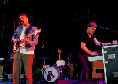 Cold War Kids perform at Riverbend on Tuesday