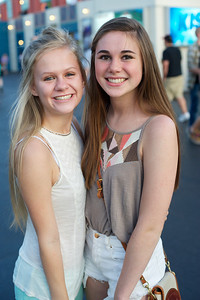 Madison and Savannah from Louisville at Riverbend for The Lumineers