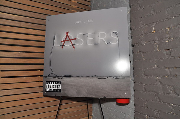 Lupe Fiasco - Laser's Listening Party