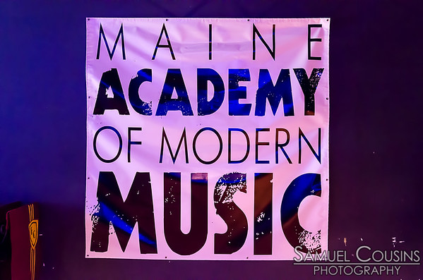 Maine Academy of Modern Music banner