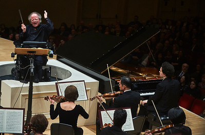 The MET Orchestra with James Levine at Carnegie