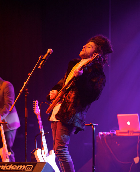 King Charles plays at MIDEM on 1/26/10