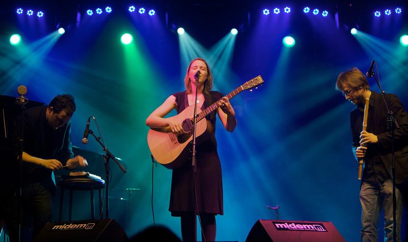 Sophie Hunger play at MIDEM on 1/24/10