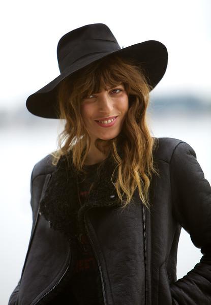 french singer Lou Doillon - MIDEM 2013 photocall