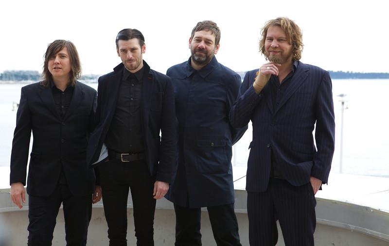 english music band Archive - MIDEM 2013 photocall
