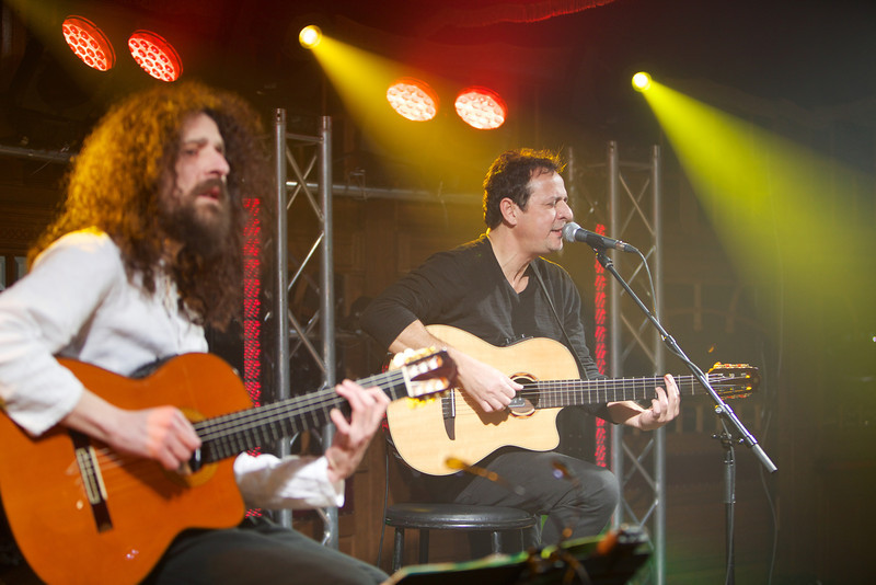 Brazilian guitarist Marcio Faraco performs at MIDEM 2014