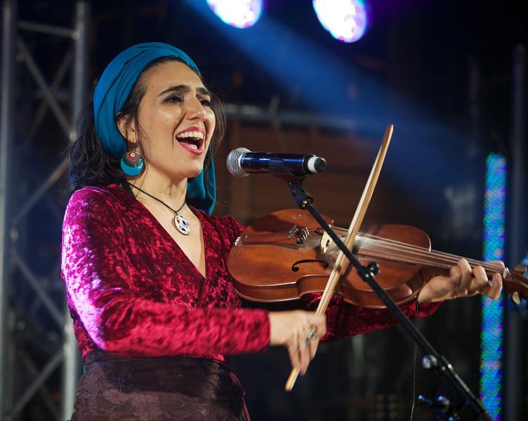 Brazilian singer Renata Rosa performs at MIDEM 2014