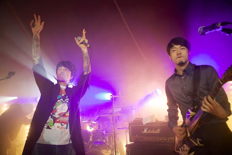 South Korean rock band The Ratios performs at MIDEM 2014