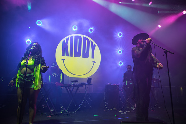 French singer and DJ Kiddy Smile performs at Midem 2017