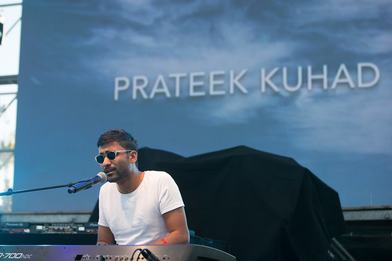 Indian folk singer Prateek Kuhad plays at Midem 2017