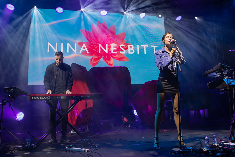 Pop singer Nina Nesbitt at MIDEM 2018