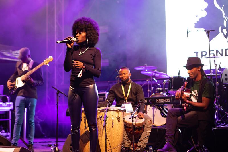 Singer Adango at MIDEM 2018