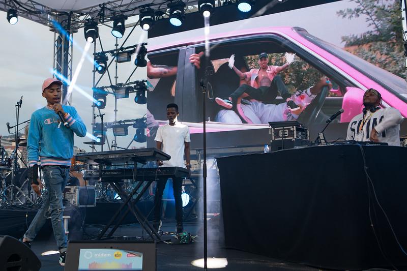Hip-hop singer T$hego at MIDEM 2018