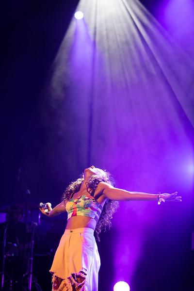 Singer Eve Ai at MIDEM 2018