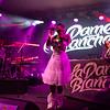 Hip-hop singer La Dame Blanche at MIDEM 2018