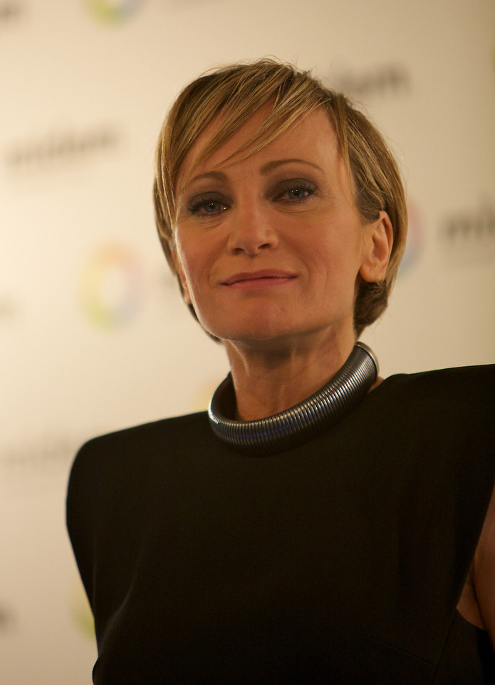 French singer Patricia Kaas at MIDEM 2012
