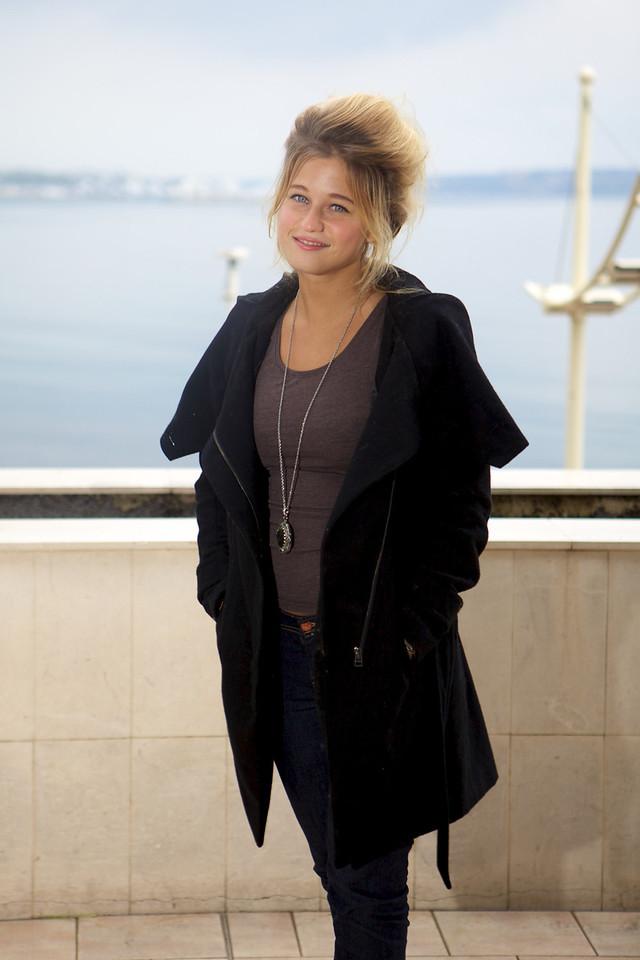 Belgian singer Selah Sue - MIDEM 2012 photocall
