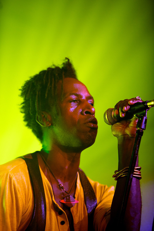 Saul Williams sings at MIDEM on 1/25/11