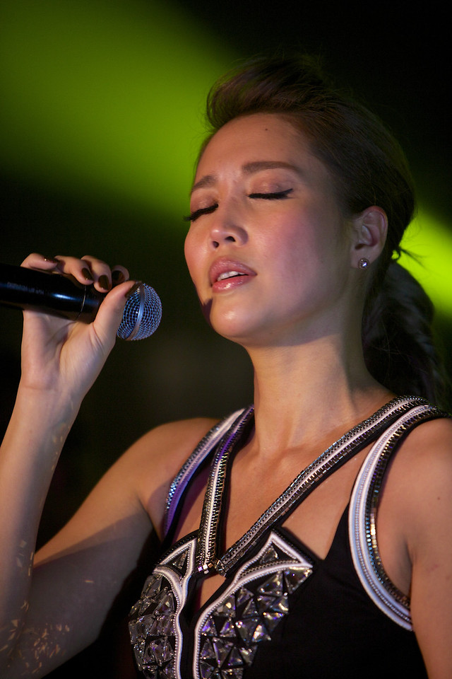 Taiwanese singer A-Lin performs at MIDEM 2014